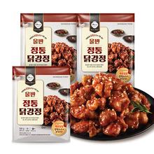 [올반] 정통 닭강정 500g*3팩 (전용소스포함)