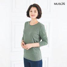 [엄마옷 모슬린] 내츄럴 라운드 티셔츠 TS002320