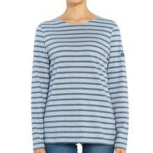 [세인트제임스] 밍콰이어 스트라이프 0237 CIE CH CHAMB CLA 여자 긴팔티셔츠