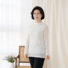 엄마옷 마담4060 시스루이중주름티셔츠-ZTE002022-