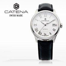 카테나(CATENA) 오토매틱 남성가죽시계 (CA009-BA/본사정품 백화점AS가능)