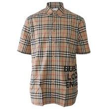 [버버리]19FW 8017301 A7028 남성 로고 빈티지 체크 오버사이즈 셔츠