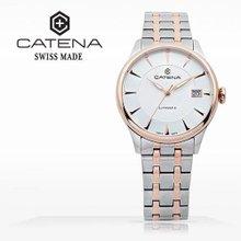 카테나(CATENA) 오토매틱 남성메탈시계 (CA007-4BM/본사정품 백화점AS가능)
