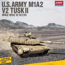 [아카데미과학] 1/35 미육군 M1A2 V2 터스크Ⅱ 13504