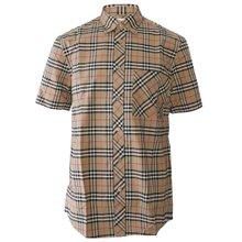 [버버리]19FW 8017297 A7028 남성 스케일 체크 스트레치 셔츠