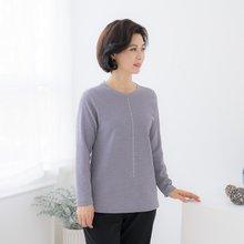 엄마옷 마담4060 빛이나는라운드티셔츠-ZTE002018-