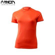 [MCN] 여성용 아이스터치 샤틴티셔츠 오렌지