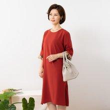 마담4060 엄마옷 러블리포인트원피스 QOP908003