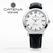 카테나(CATENA) 오토매틱 남성가죽시계 (CA005-BA/본사정품 백화점AS가능)