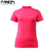 [MCN] 여성용 아이스터치 샤틴티셔츠 핑크
