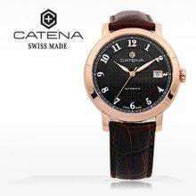 카테나(CATENA) 오토매틱 남성가죽시계 (CA005-2AU/본사정품 백화점AS가능)