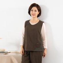 마담4060 엄마옷 포켓포인트생활한복상의 QKC908003
