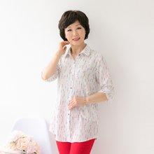 마담4060 엄마옷 가랑비포켓셔츠 QBL904112