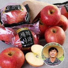 [산지장터] 경북 안동 김권수님의 세척 사과 3kg 18과내 x 3박스 총9kg