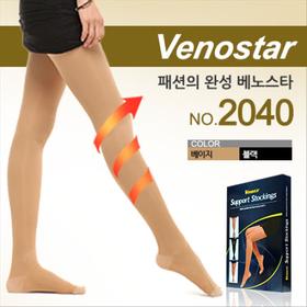 베노스타 2040번 팬티형 압박스타킹 강압26mmhg [200D-팬티압박스타킹]