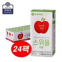 [연세우유] 스위플 사과 200mlX24팩