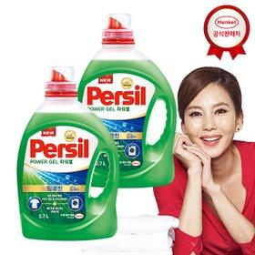 [퍼실(persil)] New 퍼실 딥클린 파워젤 2.7Lx2개(일반/드럼 선택) 세탁세제