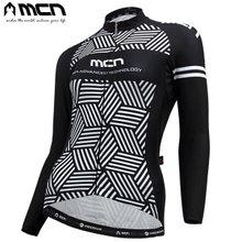 [MCN] 큐비 여성긴팔져지/자전거상의/자전거의류