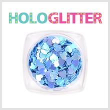 엘리카 홀로글리터 하트(라벤더) -H156-