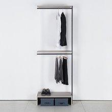 프레임 드레스룸 800 짧은옷장(연결형 2색 중 택1)