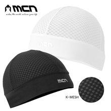 [MCN] K메쉬 스컬캡 블랙/화이트 택1 자전거모자