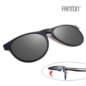 팬톤 FANTON 편광 클립선글라스 FU05_실버 미러