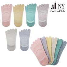 여성 국내산 발가락양말 실리콘 면덧신/ 페이크삭스
