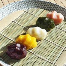 [착한떡]수제오색송편 3가지맛(꿀깨/완두앙금/기피앙금)2.4kg-한되