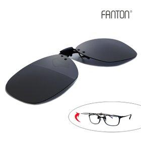팬톤 FANTON 편광 클립선글라스 FU02_스모크