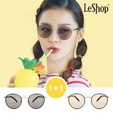 [1+1] 백화점 정품 르샵 LS5123-블랙호피틴트블랙+블랙호피틴트브라운 선글라스