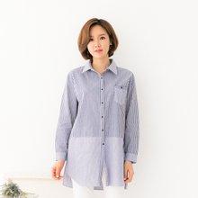 마담4060 엄마옷 줄지포켓셔츠 QBL902031