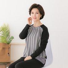 엄마옷 마담4060 작은숲티셔츠 QTE902055