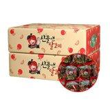 [세척사과] 산들앤 달코미 홍로 세척사과 2 box, 총 6kg
