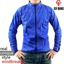 [CFBIKE]REAL WIND JACKET BLUE B0173DJK