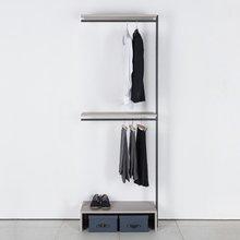 프레임 드레스룸 600 짧은옷장(연결형 2색 중 택1)