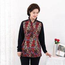마담4060 엄마옷 유니크반오픈티셔츠 ZTE910156