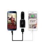 [Xtra] 엑스트라 MX120 듀얼 USB 차량용 충전기 - 마이크로5핀 5V2A(USB분리/동시충전/고속충전) MX120(5P)