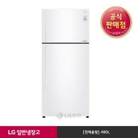 [LG] 일반냉장고 화이트 B477WM (480ℓ)