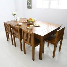[바네스데코] 1800 6인식탁(natural)
