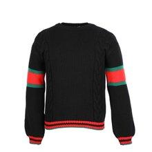 [구찌]20SS 548115 X1561 1082 남성 케이블 니트 스웨터 블랙