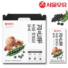 [서울우유] 검은콩 호두아몬드 두유 64팩(16팩*4박스)