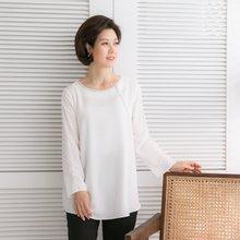 엄마옷 마담4060 은줄장식블라우스 QBL902039