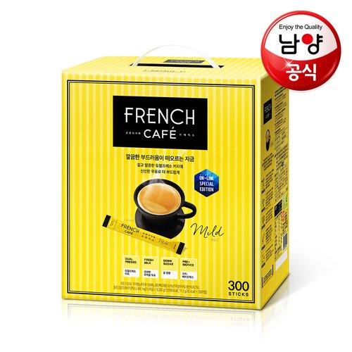 남양 프렌치카페 커피믹스 10.9gx300T+루카스나인 카페모카 70T증정!