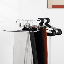 [홈앤하우스] 논슬립 옷걸이/바지걸이 120P(옷걸이 100P+멀티코팅바지걸이 20P)