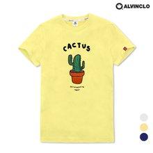 [앨빈클로] AST-3826 위트있는 선인장 반팔 티셔츠