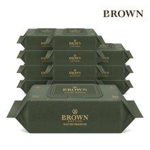 [브라운]물티슈 네이처 프리미엄 30매 라이트 캡 12팩/75gsm