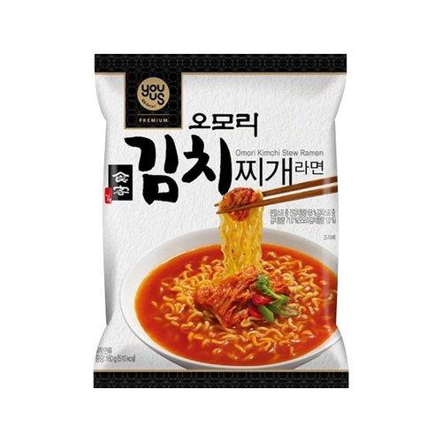 [즉시발송][GS25]유어스)오모리김치찌개라면(봉지)