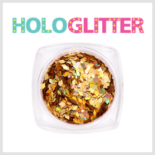 엘리카 홀로글리터 다이아2mm(골드) -H116-