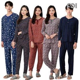 [포이]피치기모잠옷 남여 커플세트