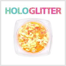 엘리카 홀로글리터 다이아2mm(오팔오렌지) -H114-